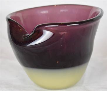 J Beranek Lobmeyr Austrian Studio Glass Moribana