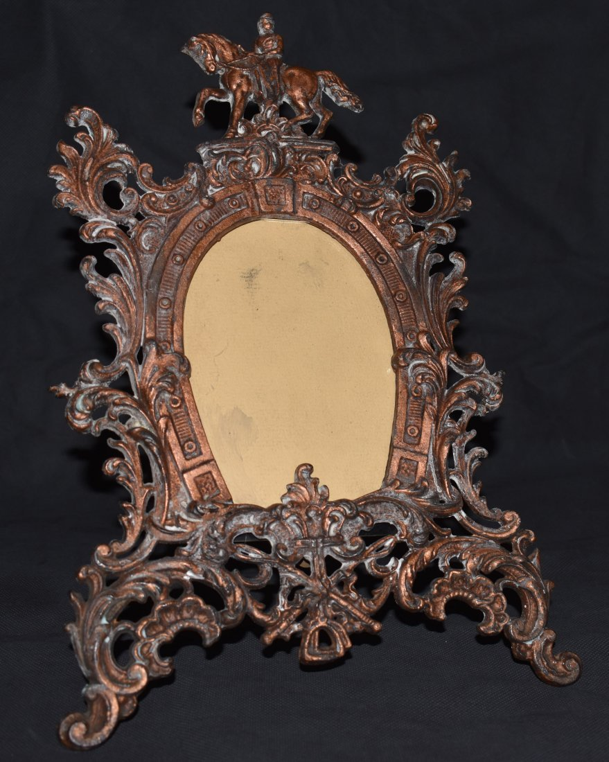 Early Equestrian Picture Frame | Horse | Rococo Style