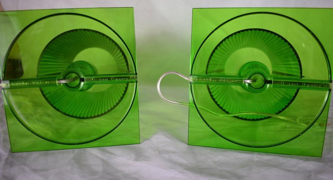 Kartell | Take Lamps | Pair | Green - 3