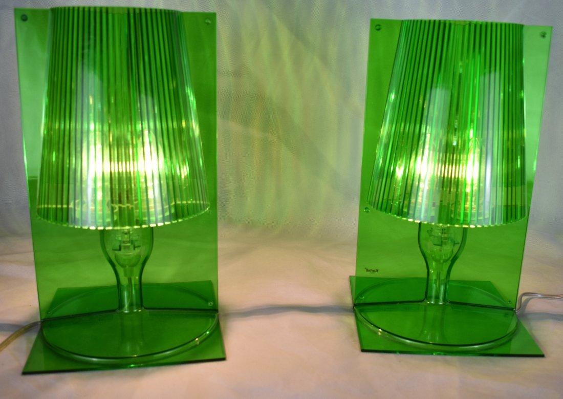 Kartell | Take Lamps | Pair | Green - 6