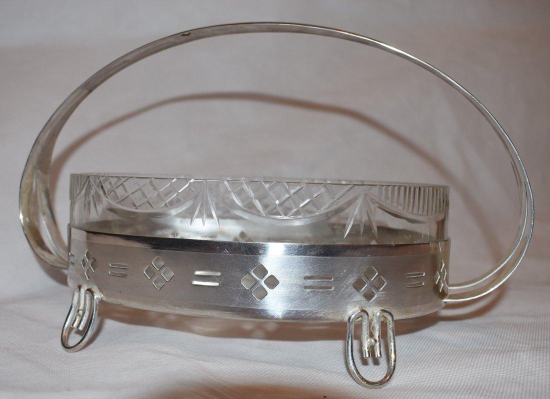 Centerpiece | Glass Insert | Art-Deco - 4