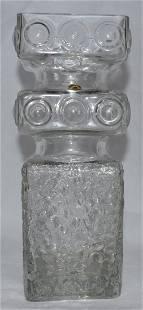 Tamara Aladin Kehra Vase Clear Glass Riihimaen