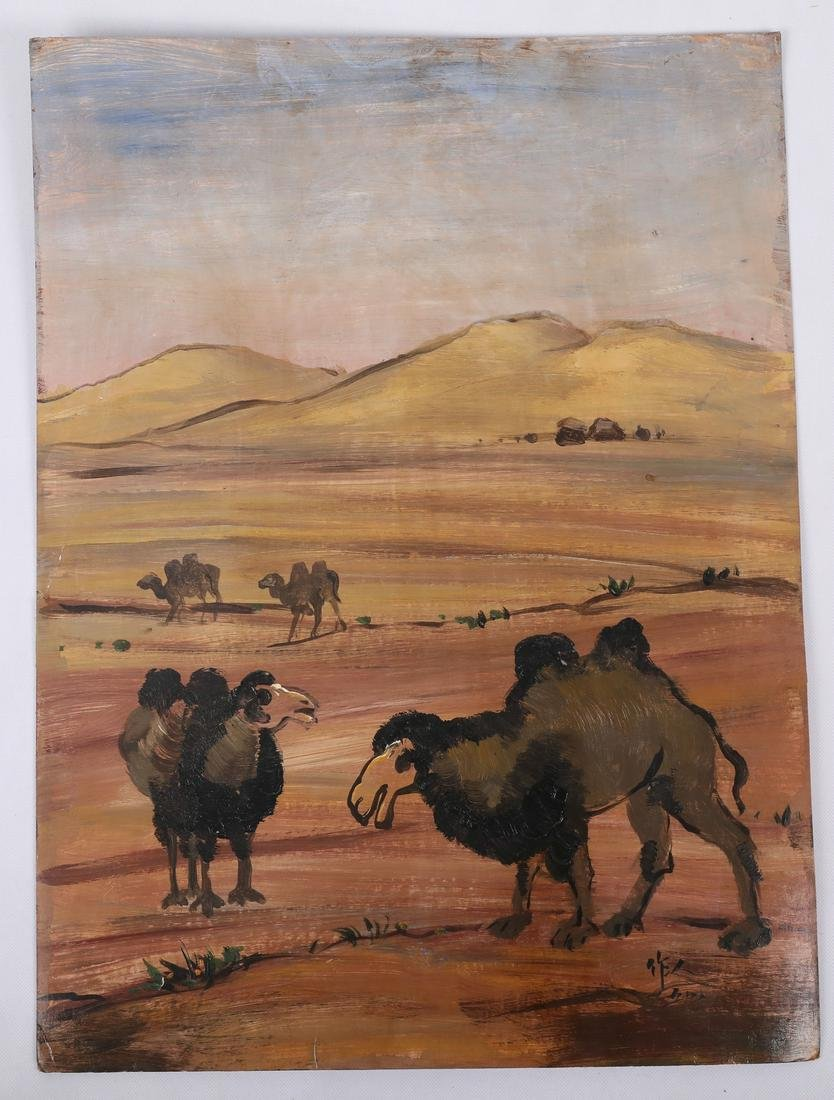 Two Western Paintings of Beautiful Scenery Signed By