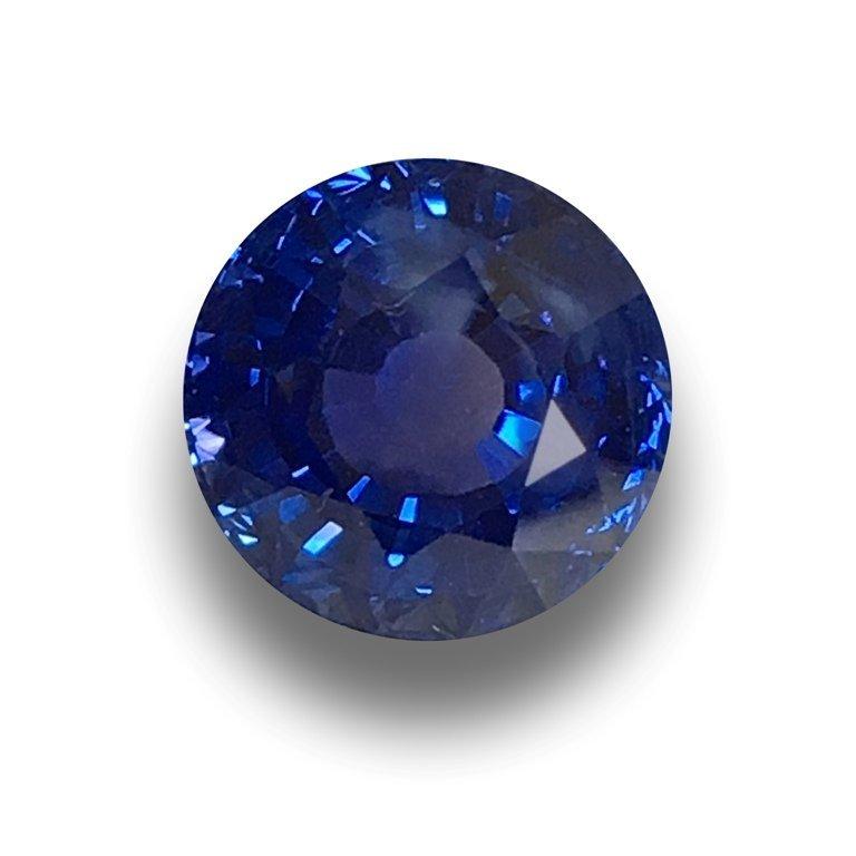 5.03 Carats | GIA Natural Unheated Blue Sapphire