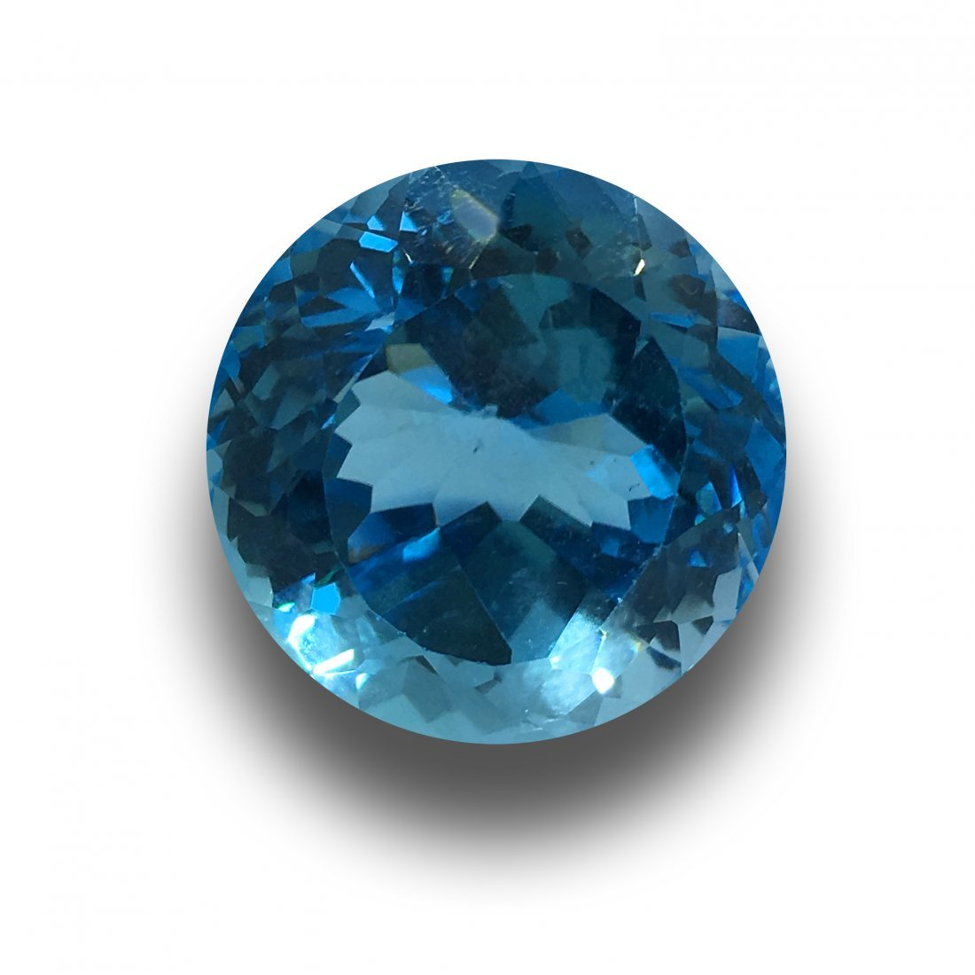 42.51 Carats  Natural Unheated Blue Topaz