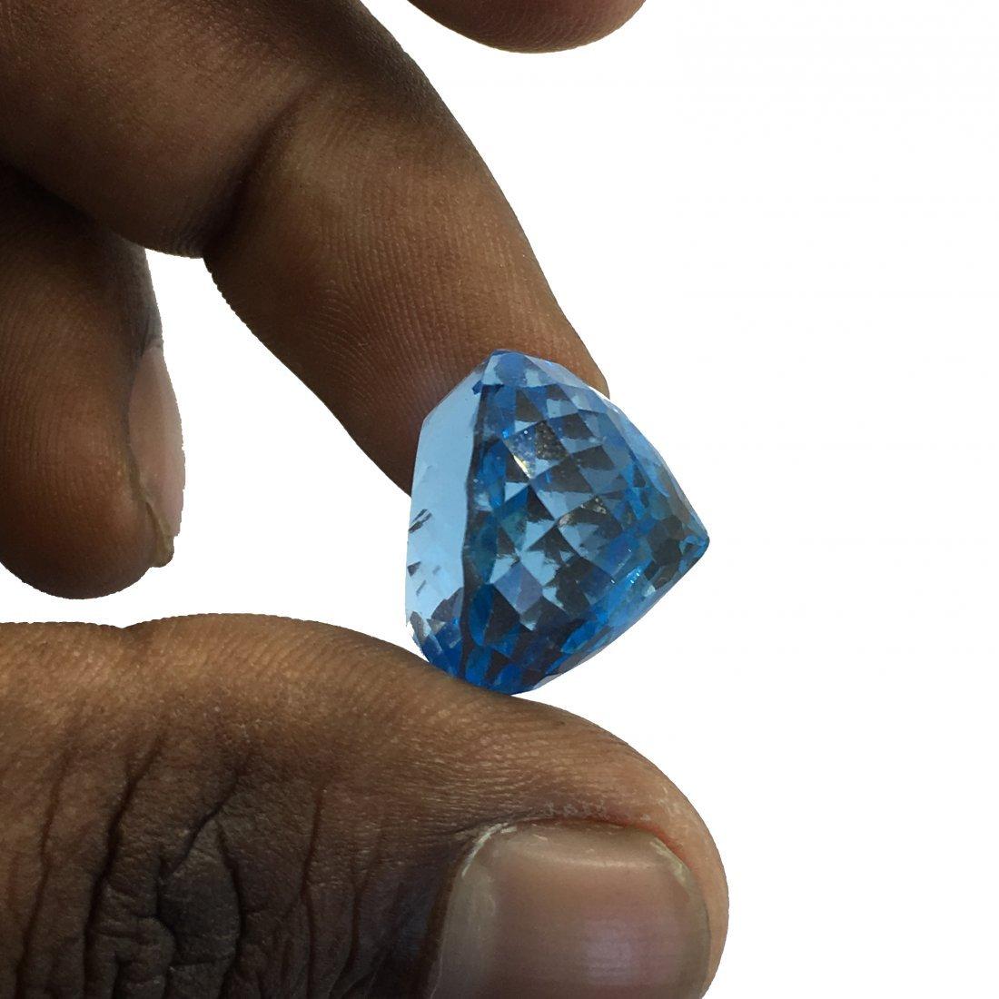 42.51 Carats  Natural Unheated Blue Topaz - 2