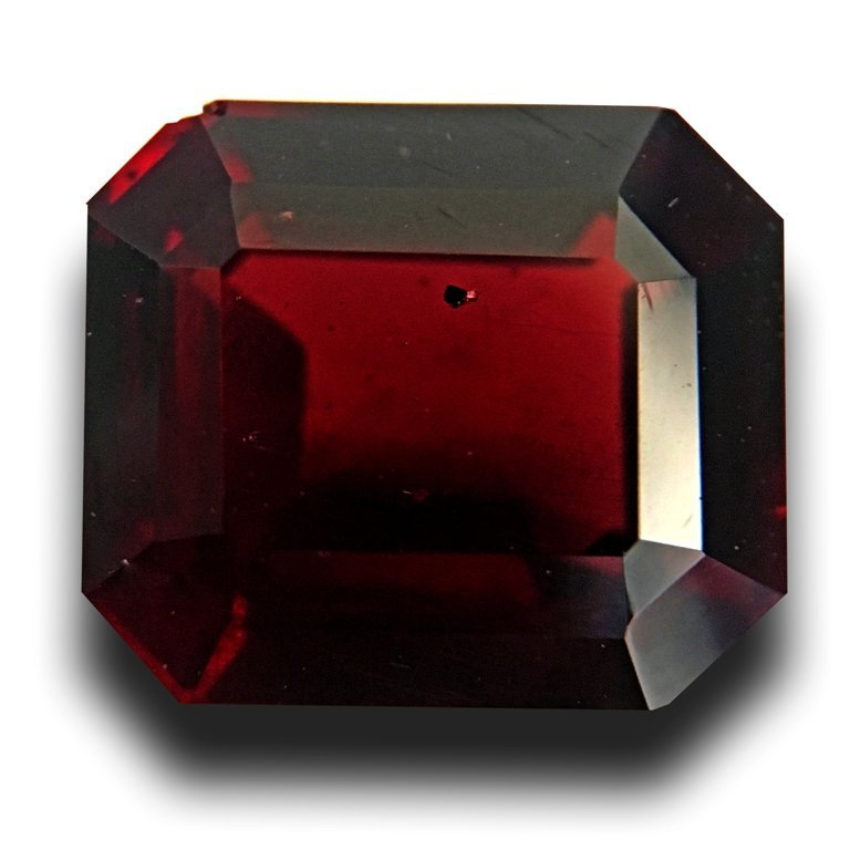 5.9 CTS Natural unheated Red garnet