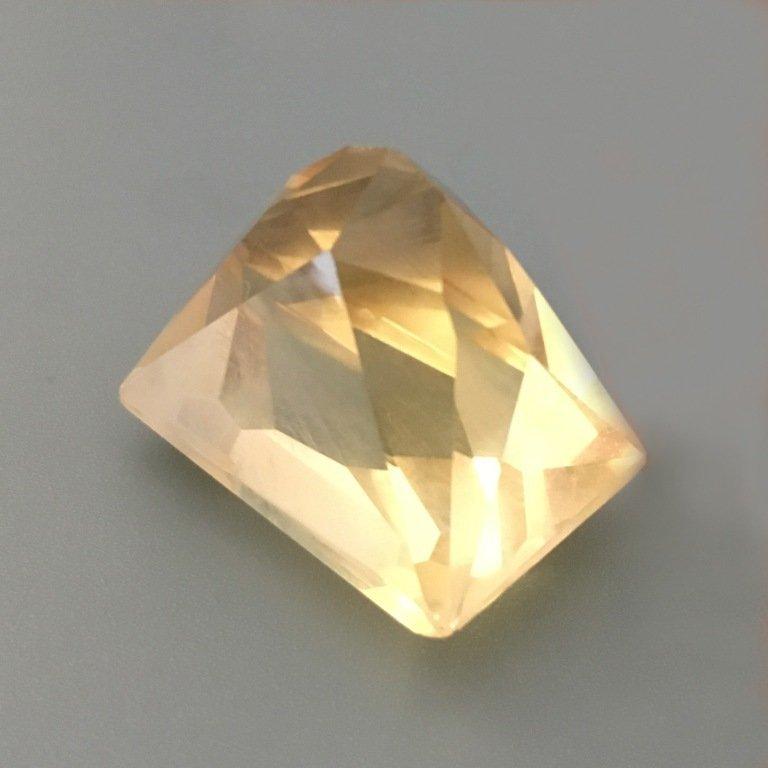 75.35 CTS  Natural Yellow quartz - 2