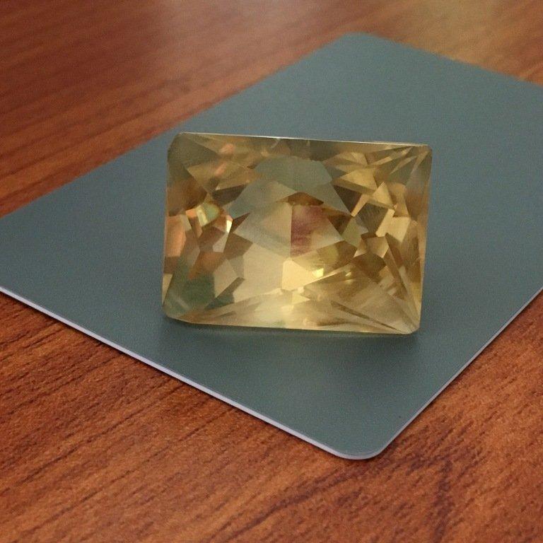 75.35 CTS  Natural Yellow quartz - 4