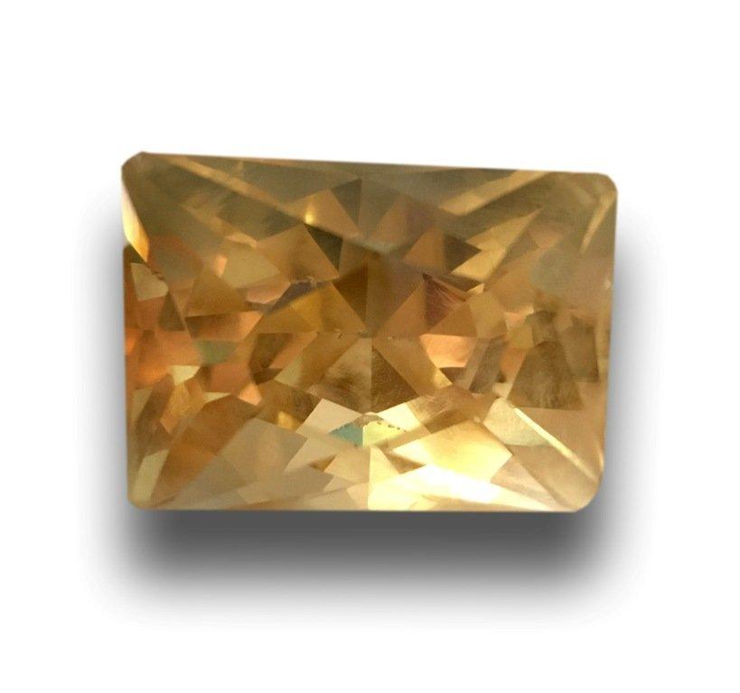 75.35 CTS  Natural Yellow quartz - 6