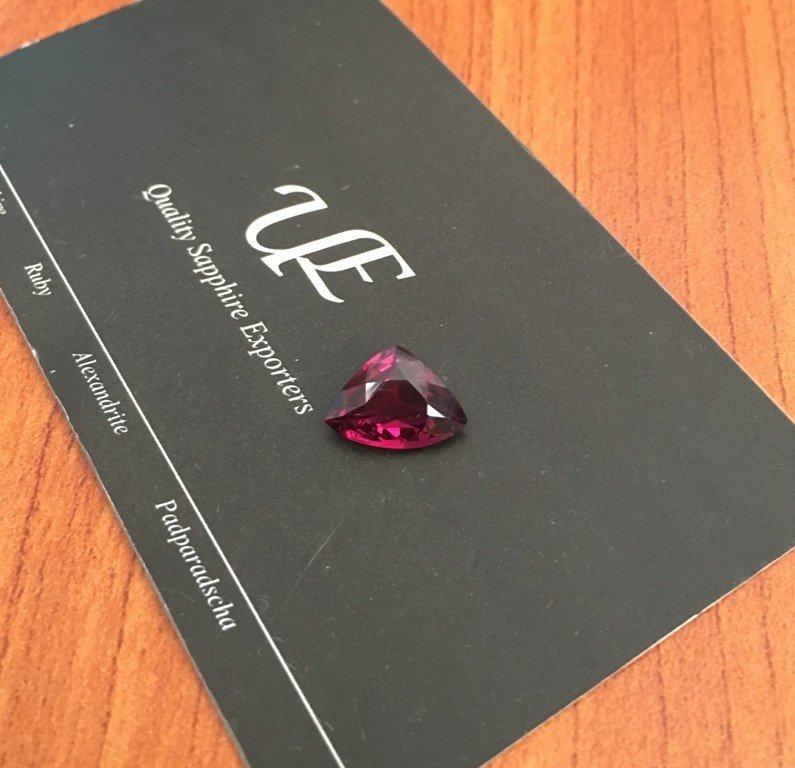 3.23 CTS Natural unheated Pinkish red GARNET - 5