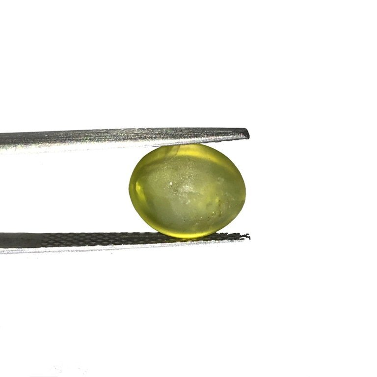 3.93 Carats  Natural Unheated Chrysoberyl Cat's - 5