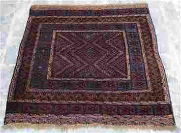 Afghani Mashwani kilim Hand Knotted Area Rug