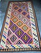 Shirazi Persian Kilim Hand Knotted