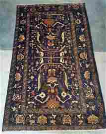 Oriental Hand Woven Baloch Area Rug