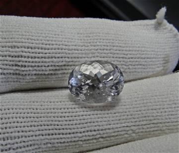 Natural Rare Pollucite Cut Gemstone