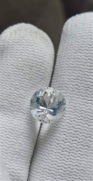 Blue Aquamarine Gemstone