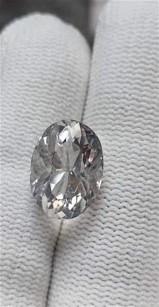 Natural Colorless FLUORITE Cut Gemstone