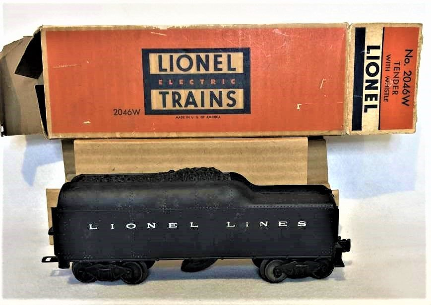 Lionel 2046 W Tender With Whistle in Original Box