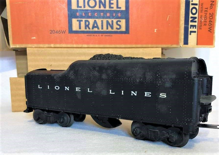 Lionel 2046 W Tender With Whistle in Original Box - 4