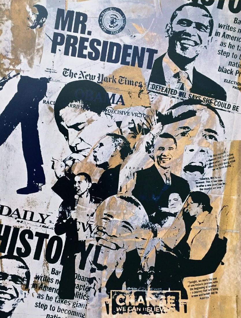 Mr. President (Barack Obama), 2009 Offset Lithograph,