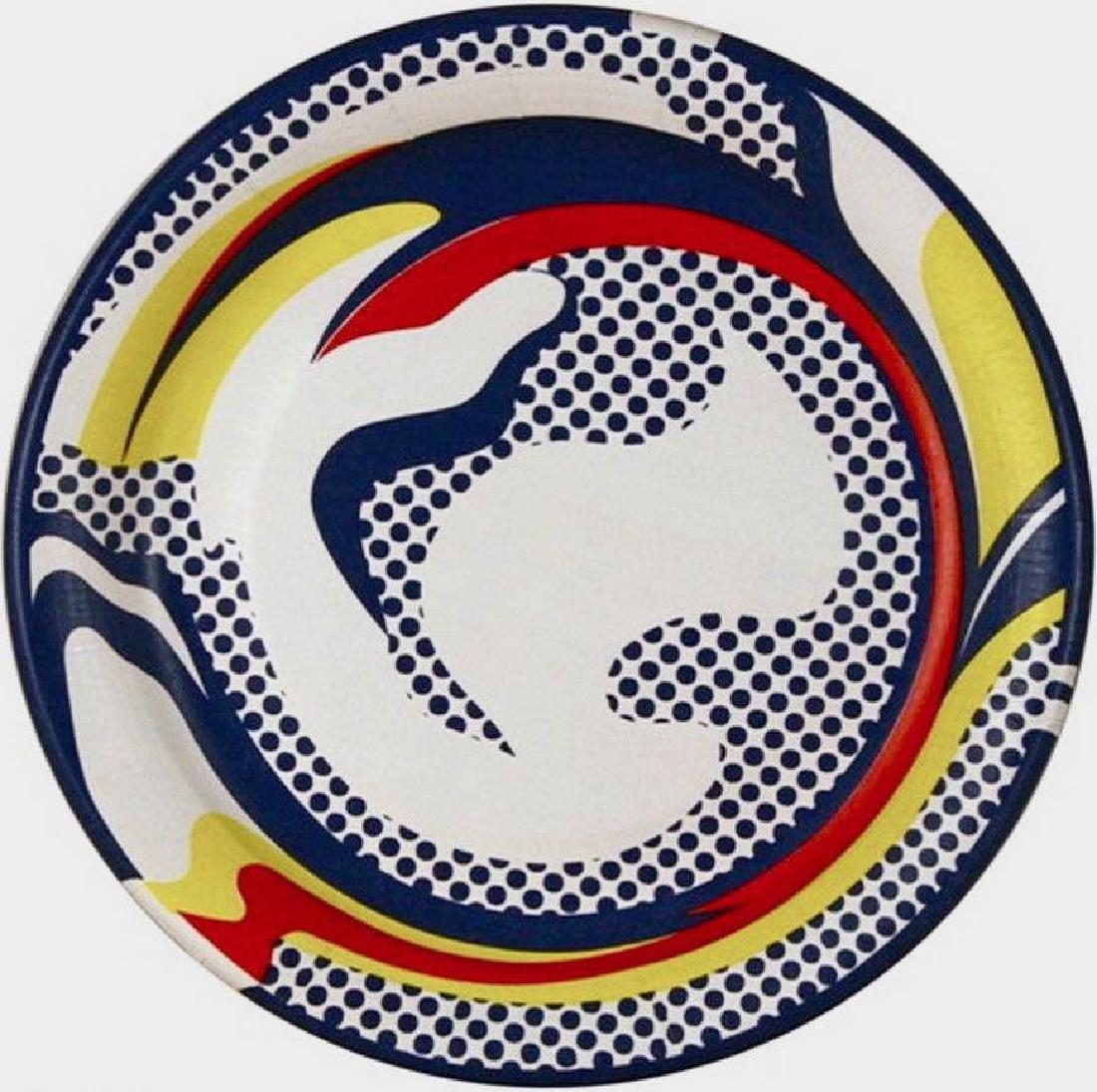 Paper Plate, 1969 Silkscreen, Roy Lichtenstein