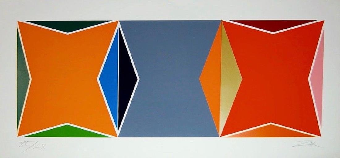 Three Square Composition, Limited Edition Silkscreen,
