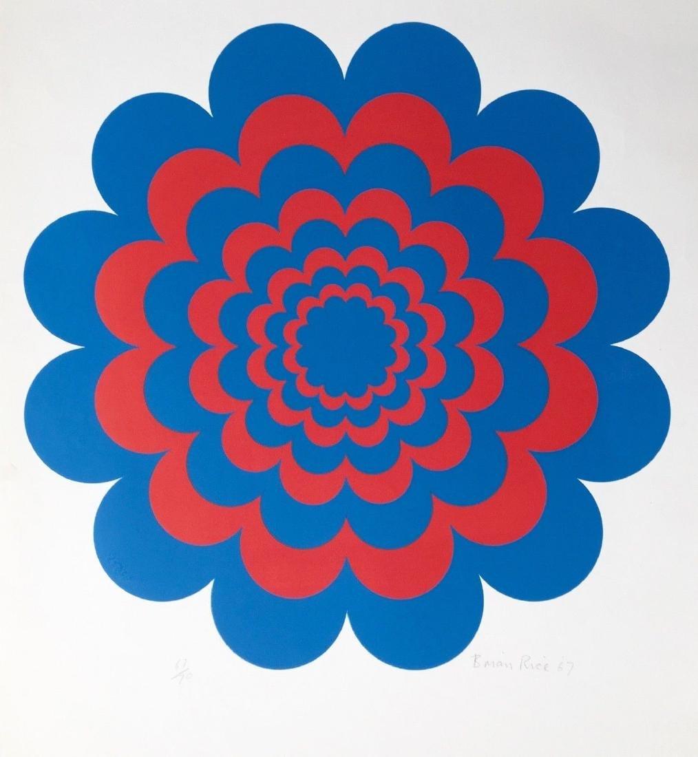 Flasher, 1967 Limited Edition Silkscreen, Brian Rice
