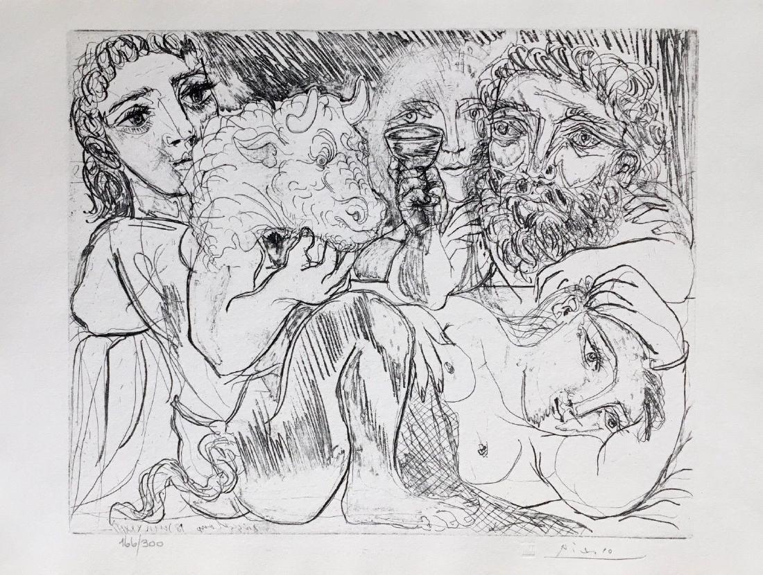 Minotaur, Drinking Sculptor, & Three Models, Ltd Ed