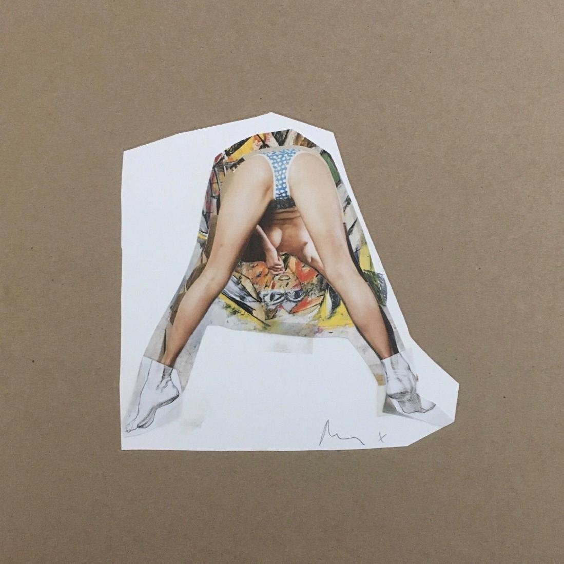 Untitled (de Kooning), Limited Edition Mixed Media,