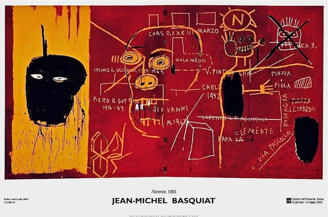 Florence(1983), 2002 Exhibition Poster, Jean-Michel