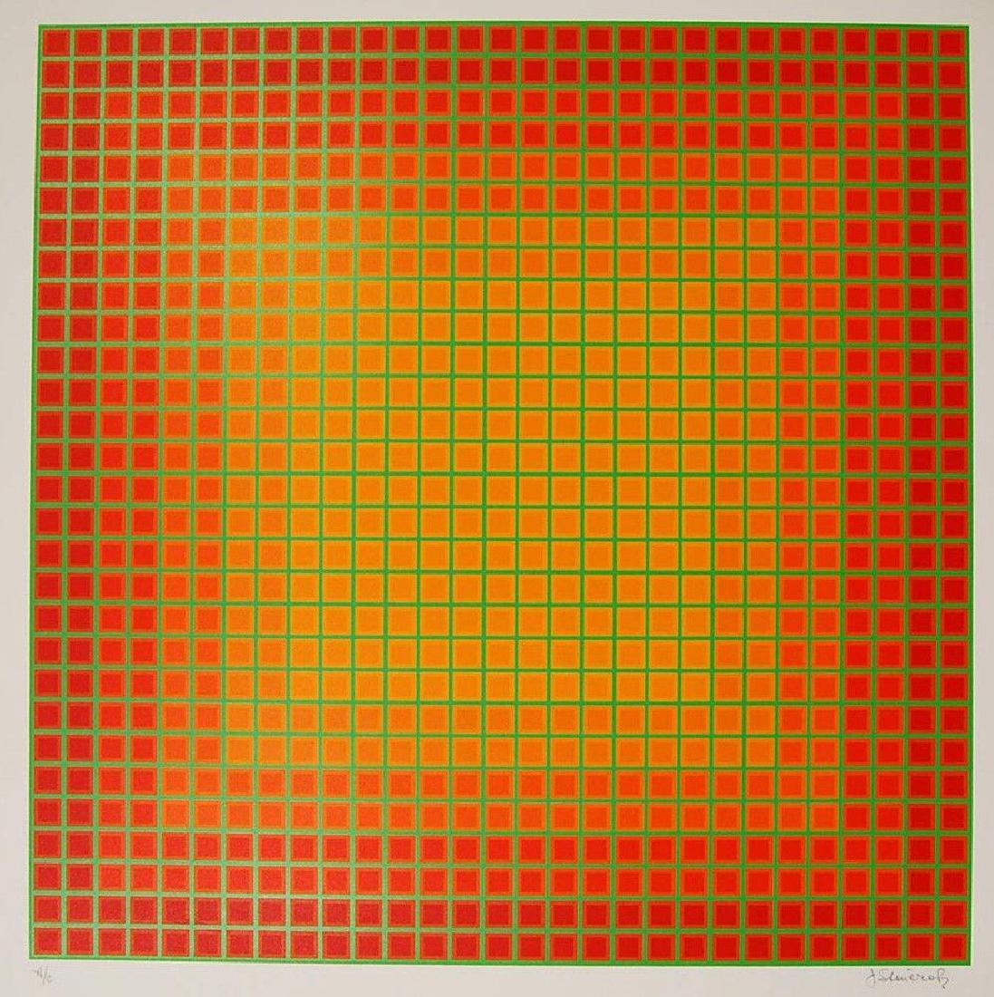 Continual, 1979 Limited Edition Silkscreen, Julian