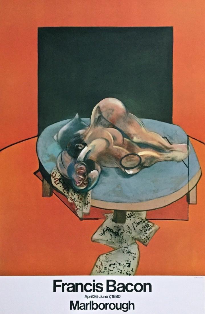 Untitled, 1980 Original Exhibition Poster, Francis