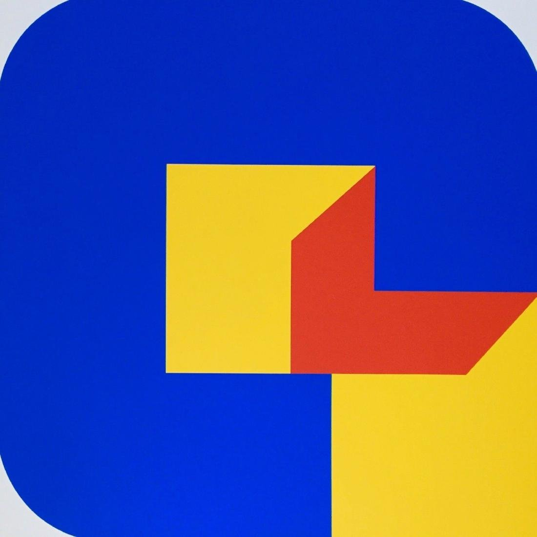 Version 8, 1969 Limited Edition Silkscreen, Georg Karl