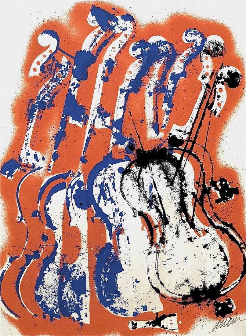 Parade, 1978 Limited Edition Silkscreen, ARMAN
