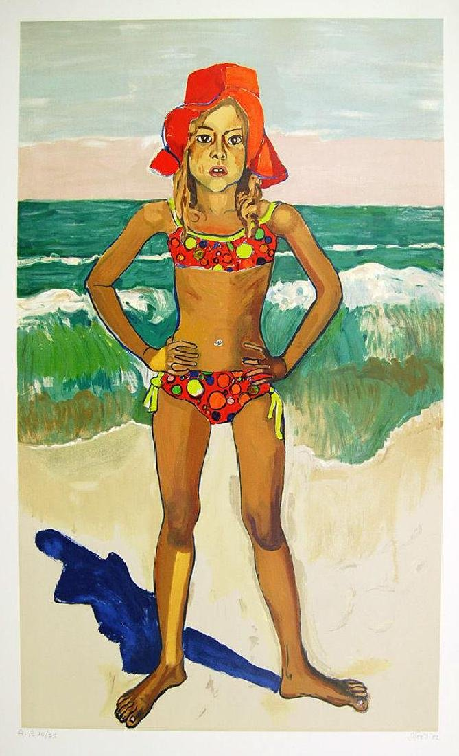 The Bather (Olivia with Red Hat), Limited Edition