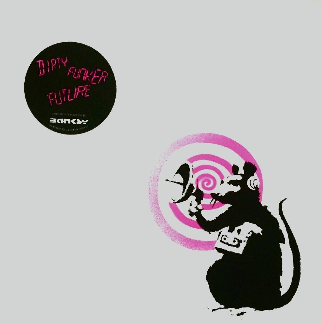 Radar Rat, 2008 Original Limited Edition Album Sleeve