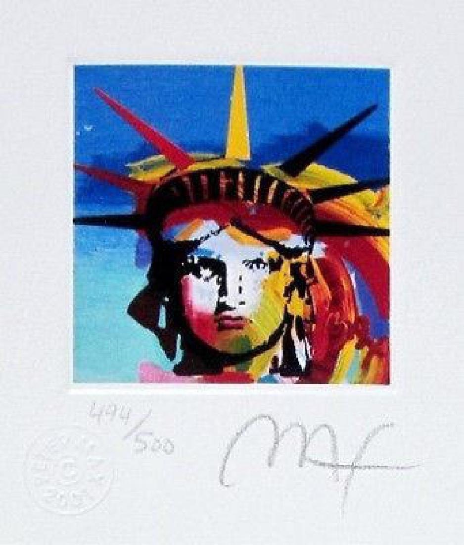 Liberty Head III (Mini), Limited Edition Lithograph,