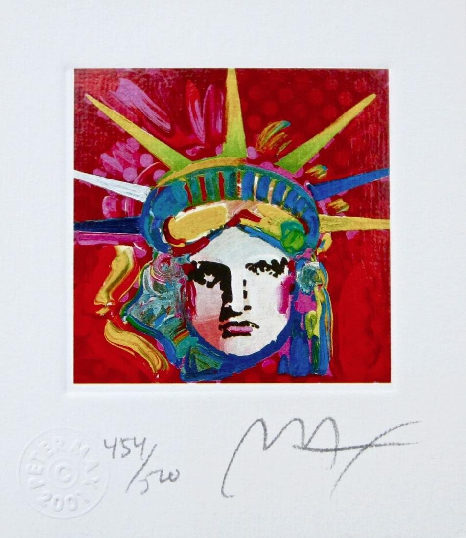 Liberty Head IV (Mini), Limited Edition Lithograph,