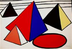 4 Great Pyramids, Limited Edition Lithograph, Alexander