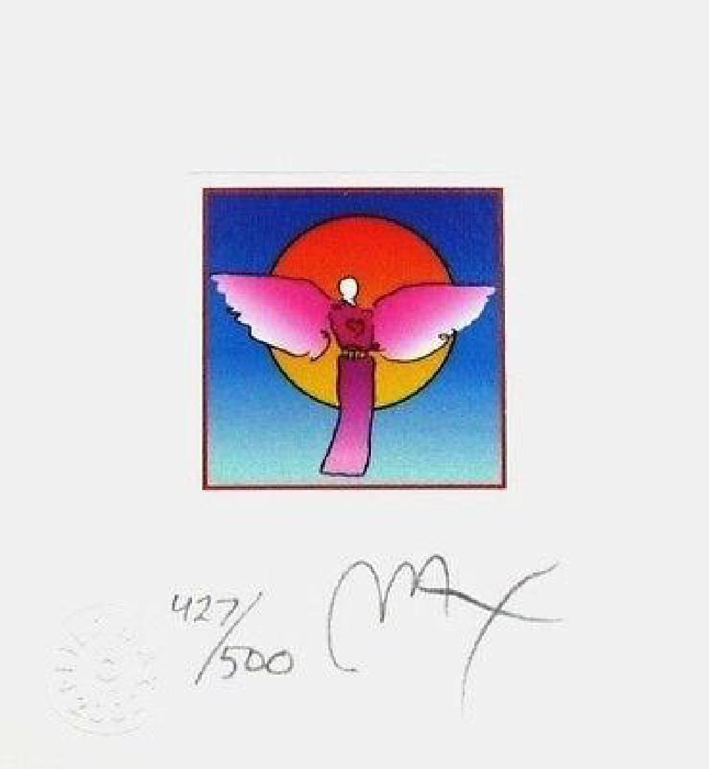 Angel with Sun II (Mini), Limited Edition Lithograph,