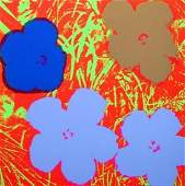 Flowers #69 (Sunday B. Morning), Silk-screen, Andy