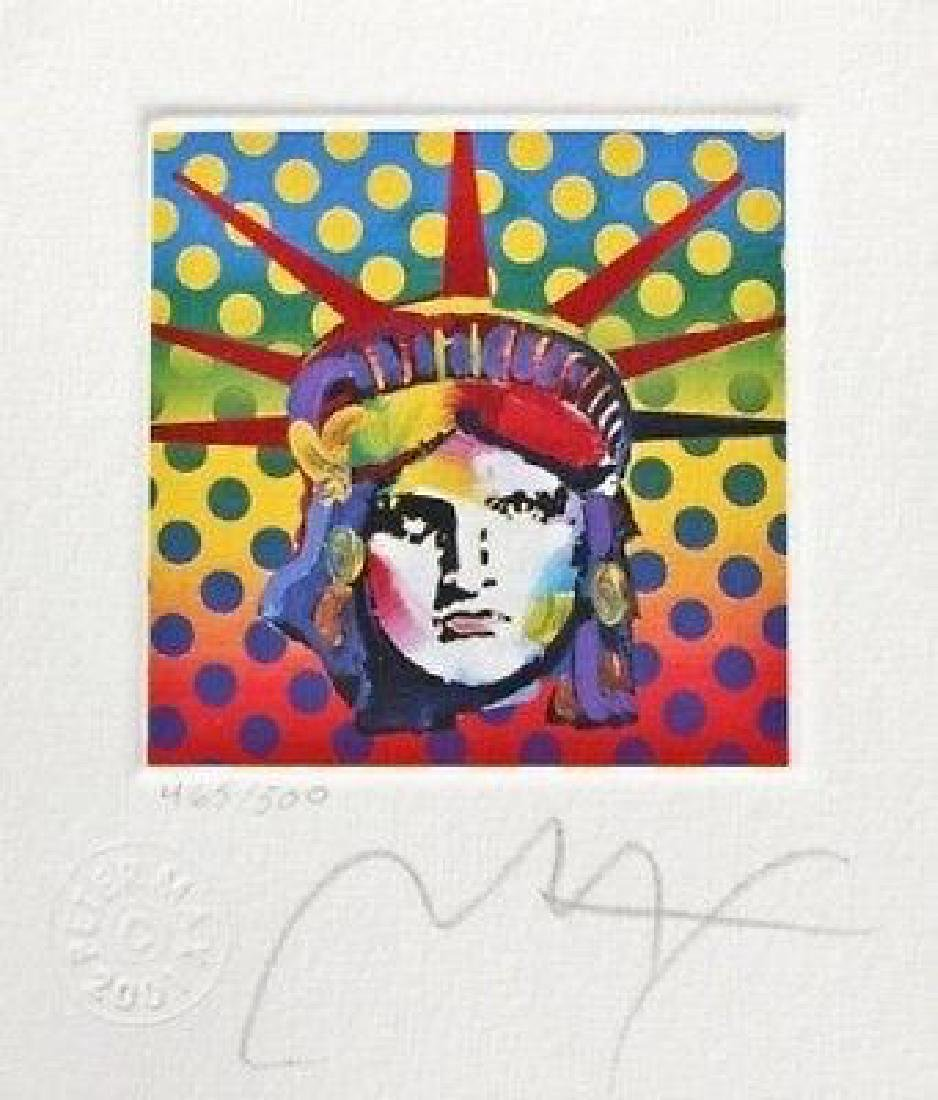 Liberty Head V (Mini), Limited Edition Lithograph,