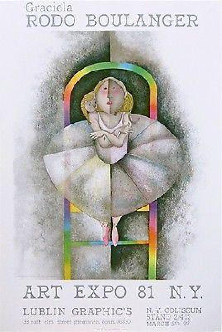 Le Petit, 1981 Art Expo Poster, Graciela Boulanger -