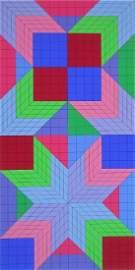 DO-OR, Ltd Ed Silk-screen, Victor Vasarely