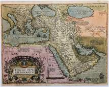 Antique Map: Turcici Imperii Descriptio