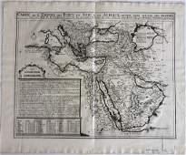 Antique Map Carte de LEmpire des Turcs