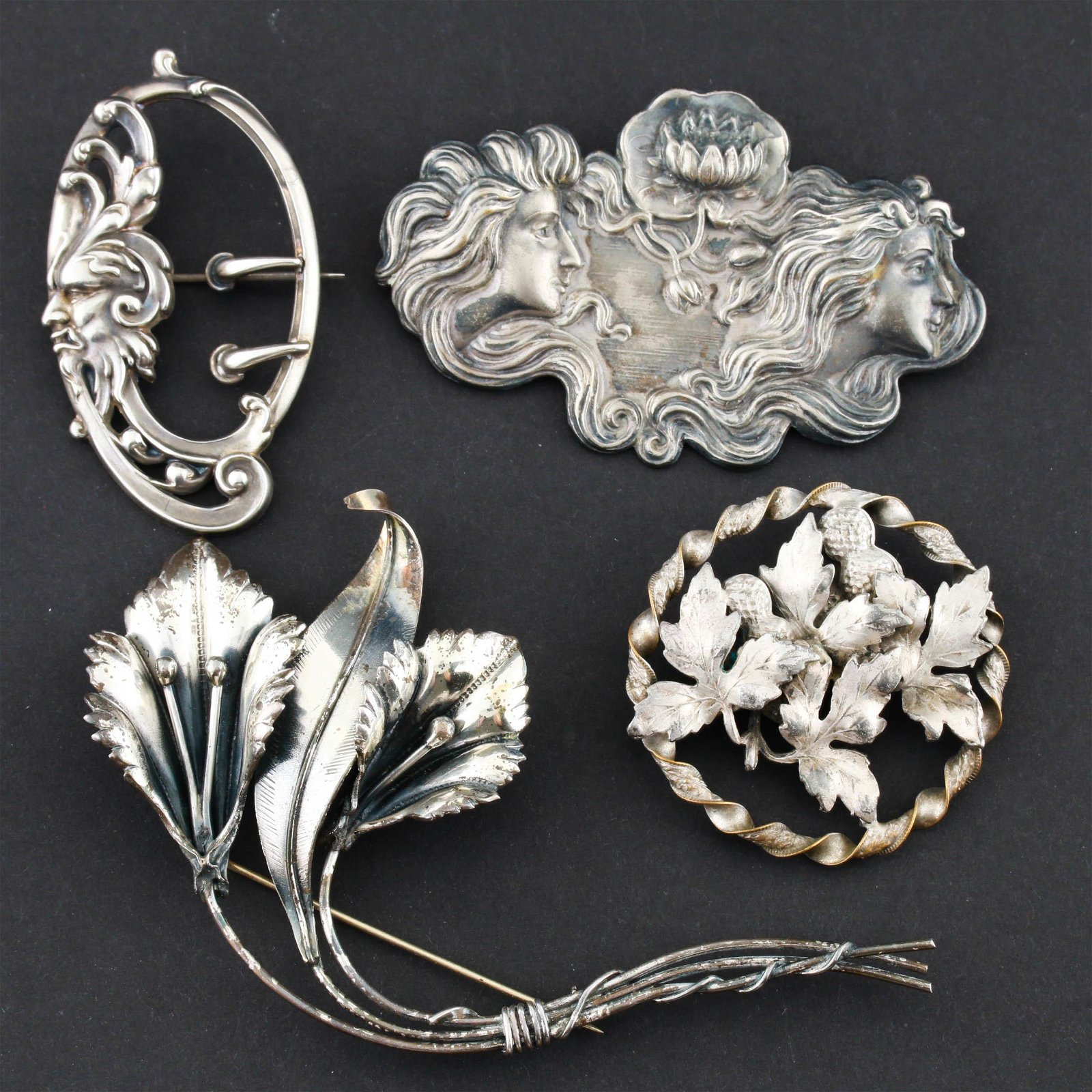 Collection of Early 20th Century Sterling Silver