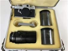 Leicaflex Camera with Three Ernst Leitz Weztlar Lenses: