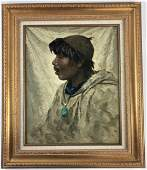 King Island Eskimo by Eustace Paul Ziegler (American,